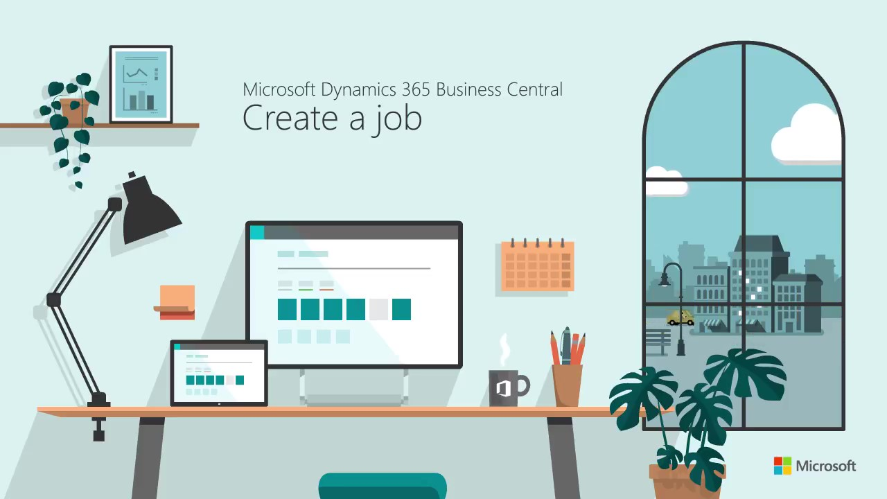 How to Create a job in Microsoft Dynamics Business Central