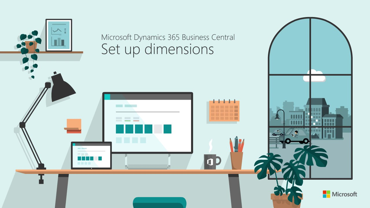 How to set up Dimensions in Microsoft Business Central