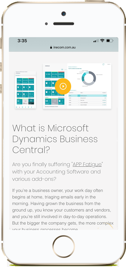 Mobile-view-of-microsoft-dynamic-business-central