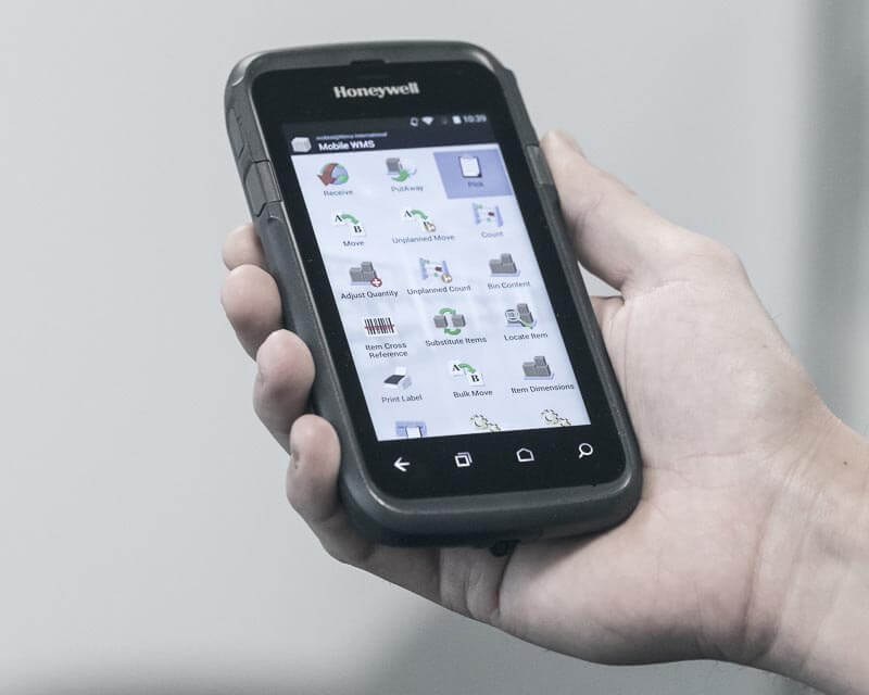 mobile in warehouse tasklet