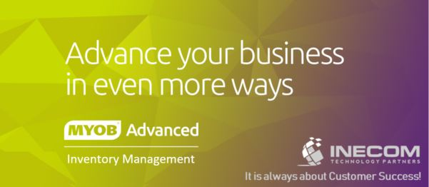 See how MYOB Advanced Inventory Management can make a difference for you