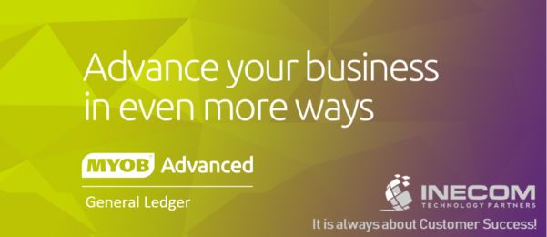 Let the MYOB Advanced General Ledger work for you